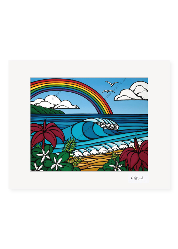 North Shore Rainbow <br>【オープンエディションマットプリント】