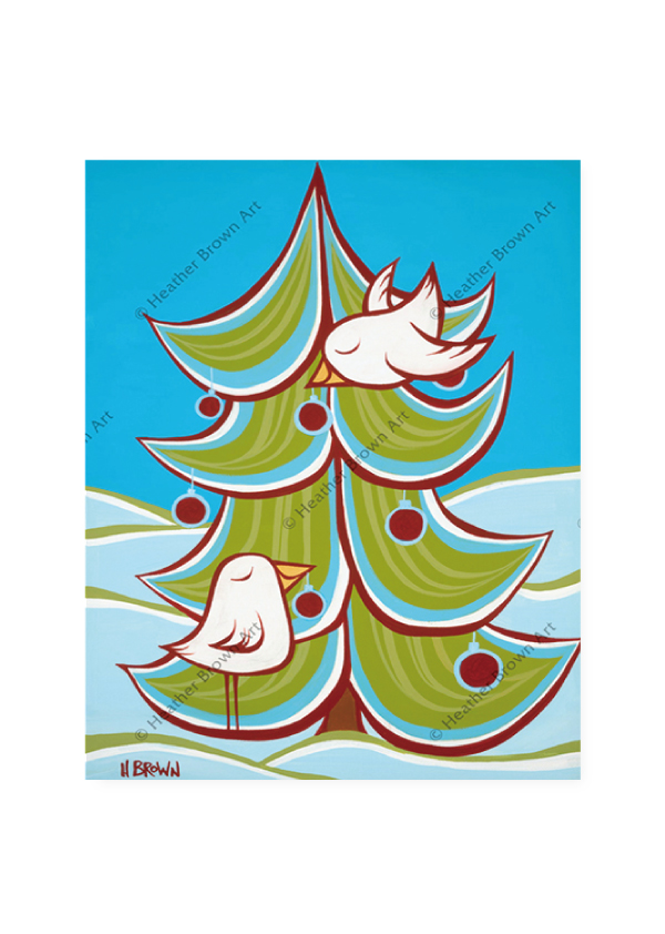 Christmas Tree<br>【オープンエディションマットプリント】