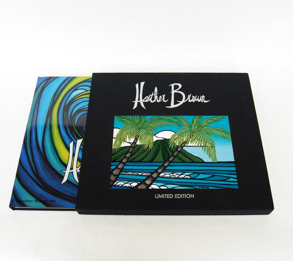 The Art of Heather Brown<br>【Diamond Head Palms (Limited Edition of 500 Call for Availability)】