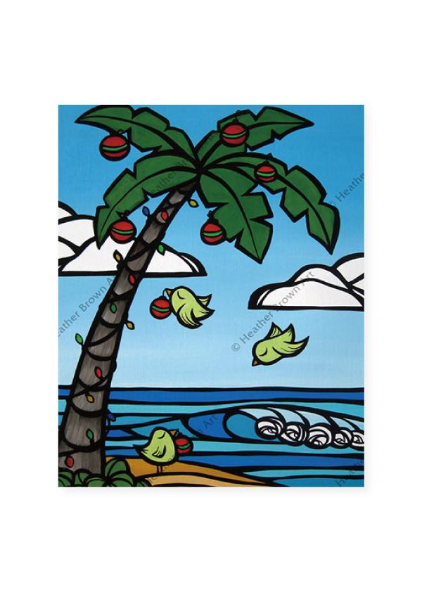 Tropical Christmas<br>【オープンエディションマットプリント】
