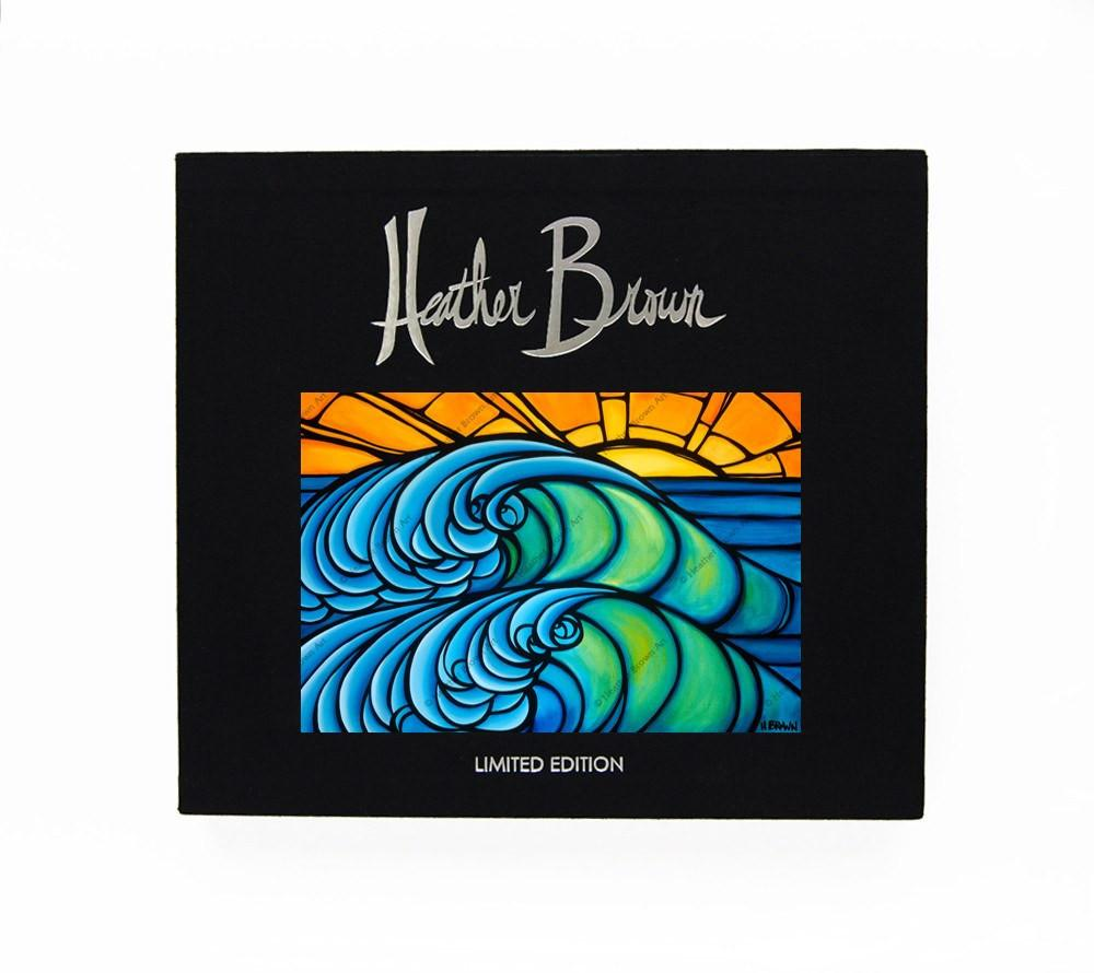 The Art of Heather Brown<br>【North Shore Wave (Limited Edition of 500 Call for Availability)】
