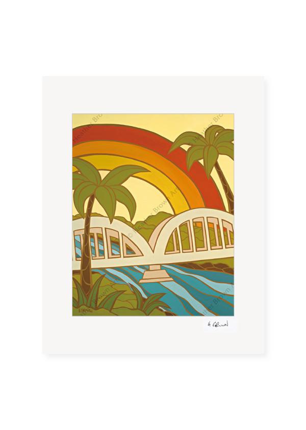 Rainbow Bridge <br>【オープンエディションマットプリント】