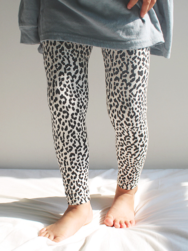leggings of leopard