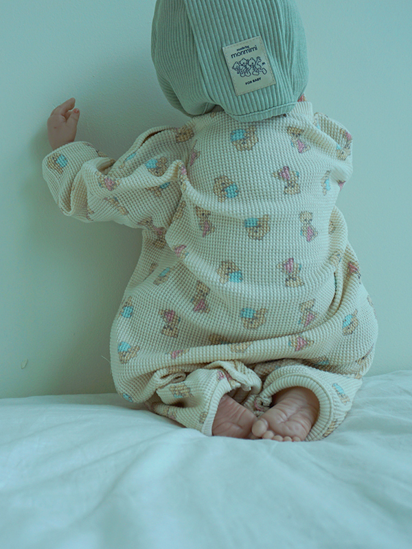 BABYGROW with cotton candy baby bear