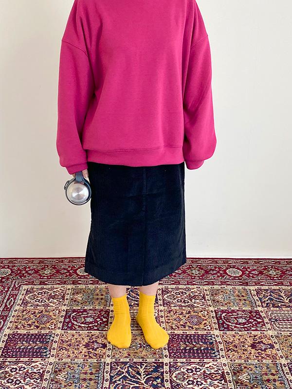 blue black oat skirt(only mom)