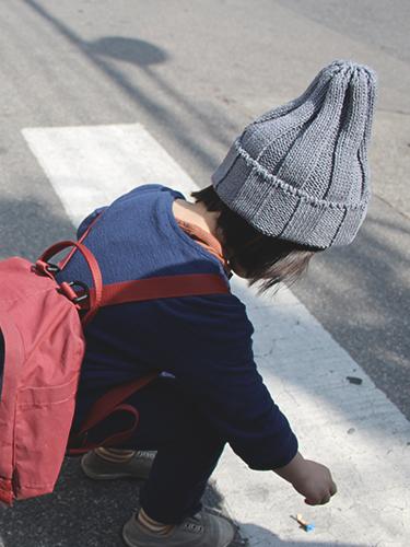 botanical harunatsu knit cap