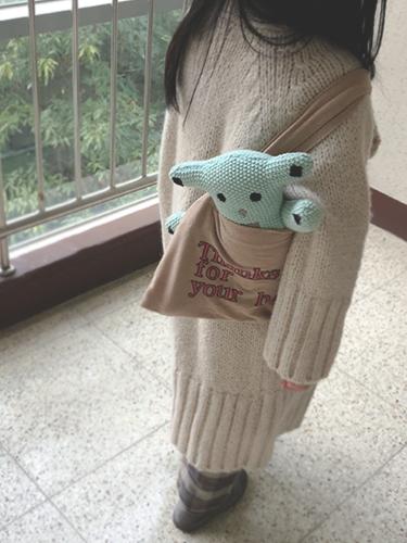 THX plush toy bag