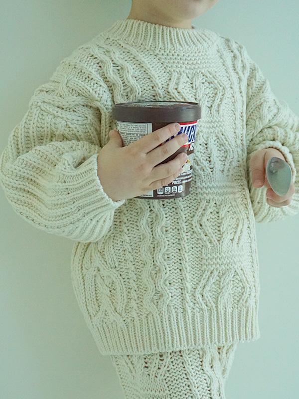 icecream loose knit