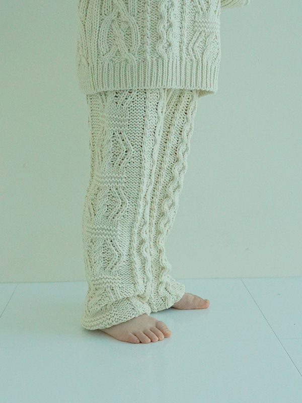 beurre knit pants