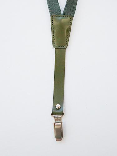 marron suspenders