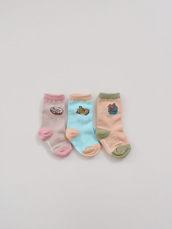 sweet three brothers socks set for bebe