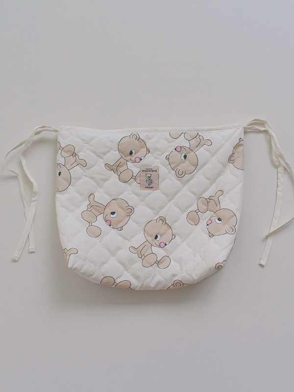 anywhere strage pouch QUILTING BEAR