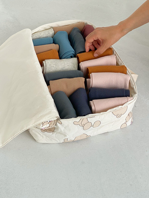 big enough for panty pouch QUILTING BEAR
