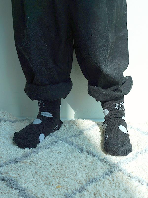 DOT BEAR socks