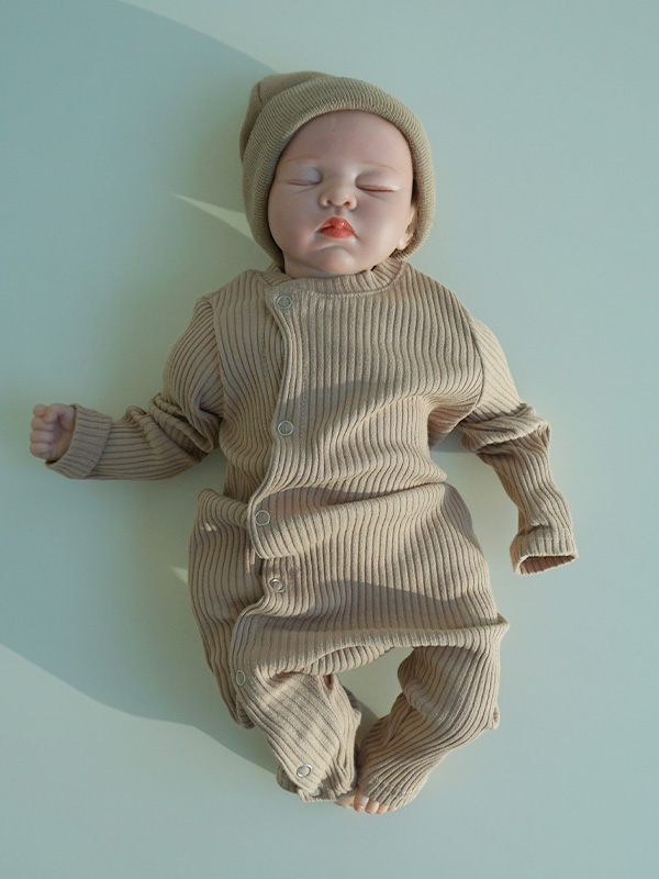Vertical line baby suits