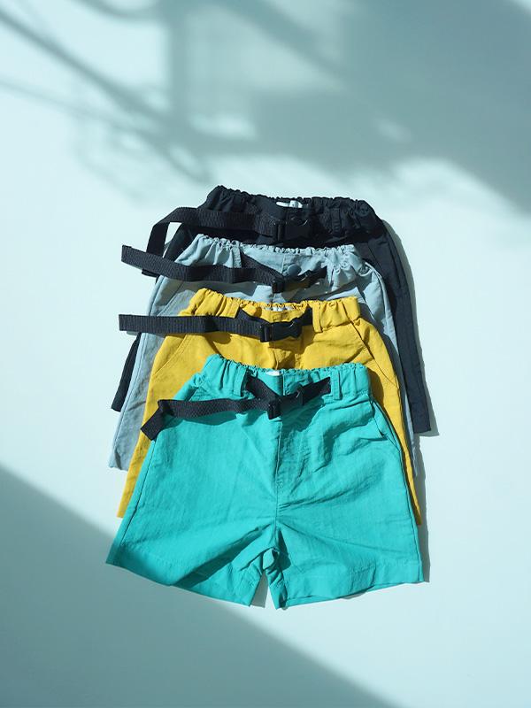 belt half pants