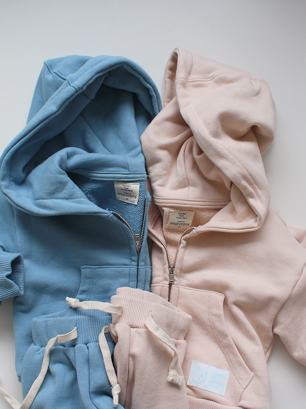 faithful zip hoodie set up
