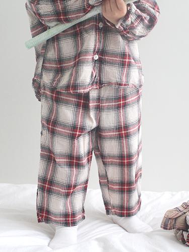 Arlo long pants(five chaecks)