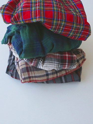 Hervey half pants(five checks)