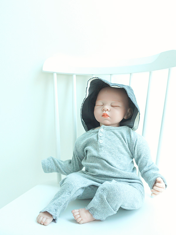 relax rib baby suits