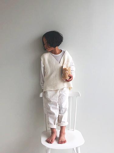 [特価]artisan knit gillet2