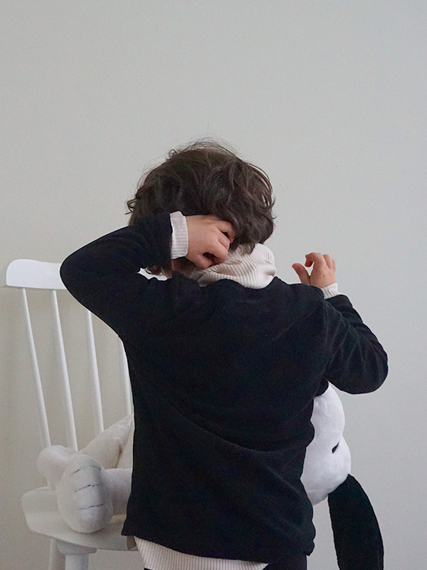 nini towel cardigan