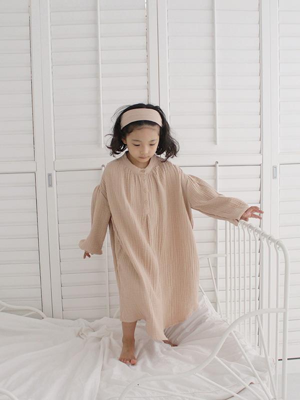 candy sleeve blouse onepiece MILKTEA GAUZE