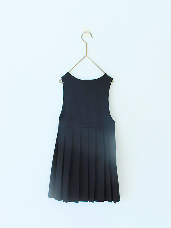 BLACK apron onepiece