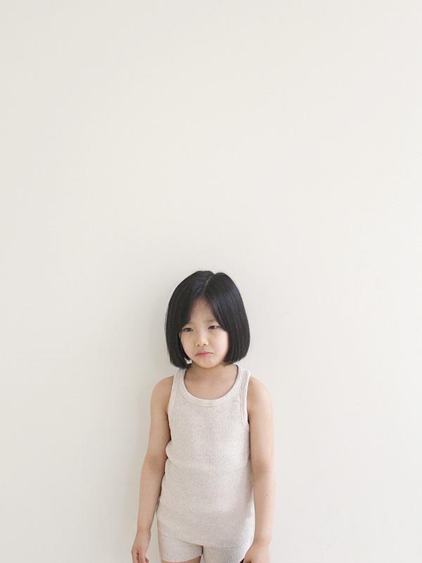 angel rib sleeveless