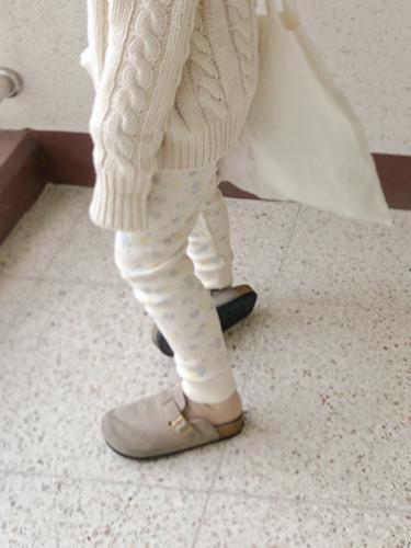 B of waffle leggings pants