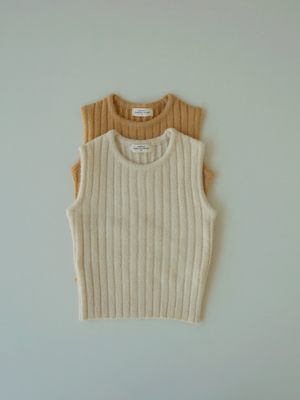 winter peanuts butter vest