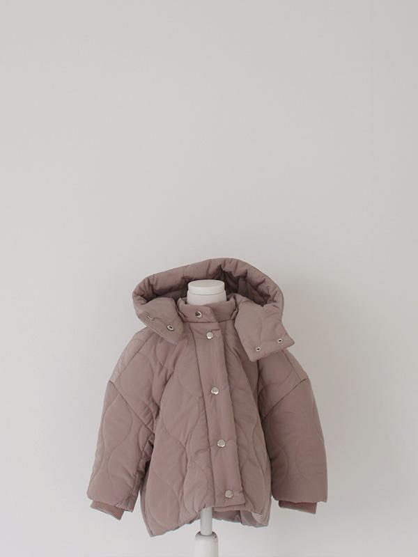 KIDS short quilting astronaut jacket