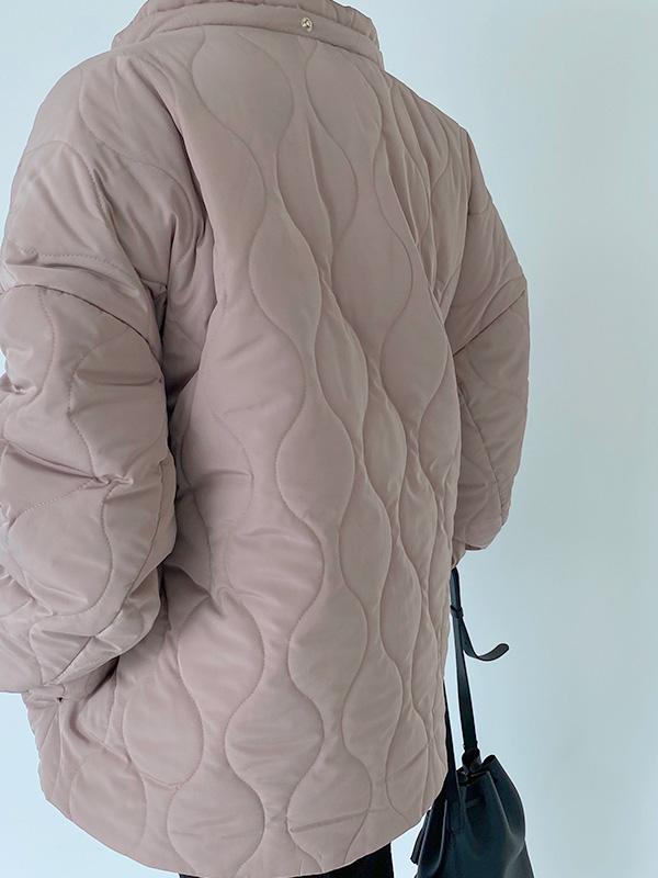 MOM short quilting astronaut jacket