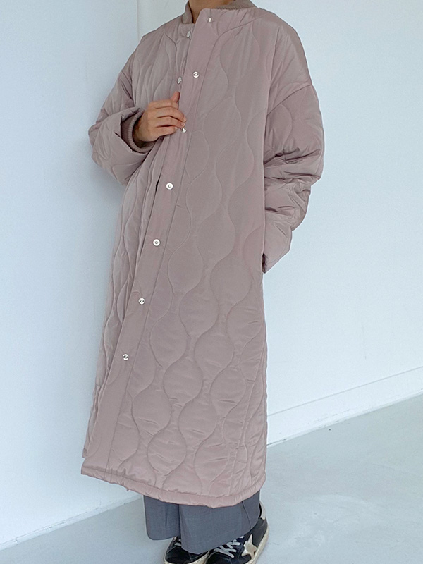 ONLY FOR MOM quilting long coat