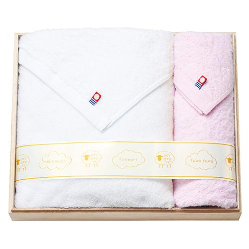 fuwa mocoタオルセット ピンク