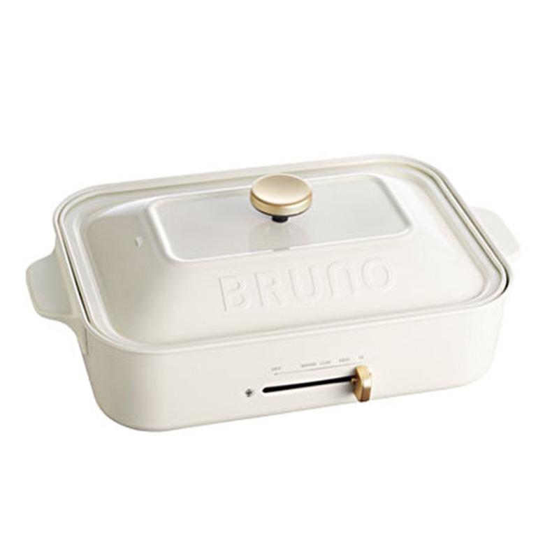 BRUNO(ブルーノ) コンパクトホットプレート ホワイトBOE021-WH