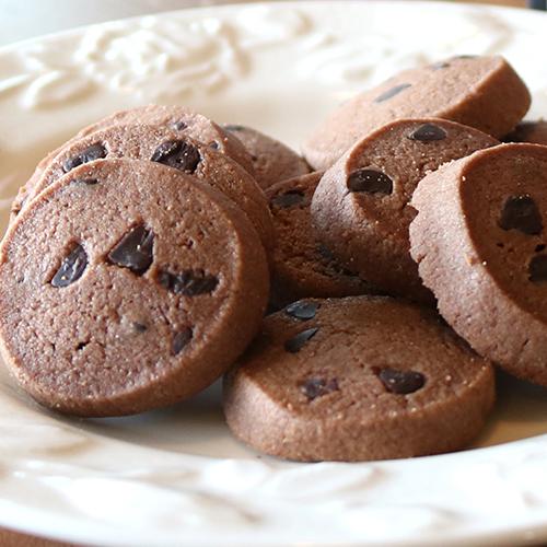 キャニスター チョコチップココアクッキー10枚 BL