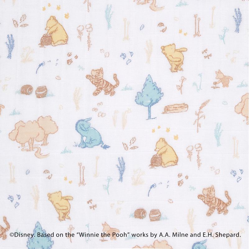 クラシック ドリームブランケット winnie in the woods|エイデン&アネイ