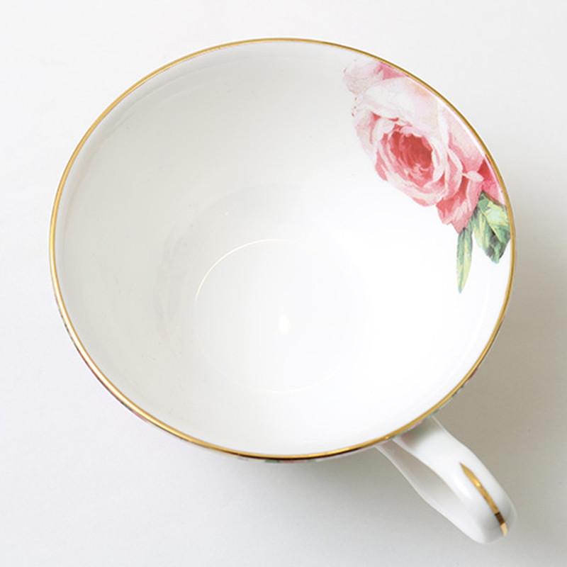 ローズカップ&ソーサー ボーンチャイナ