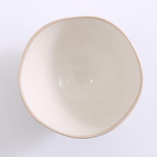 りんご 茶碗大 水色