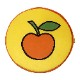 【期間限定プライス!】mf シートクッション サークル リンゴ