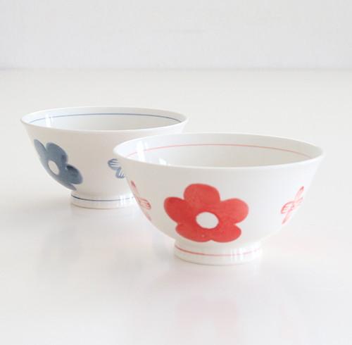 花紋 茶碗