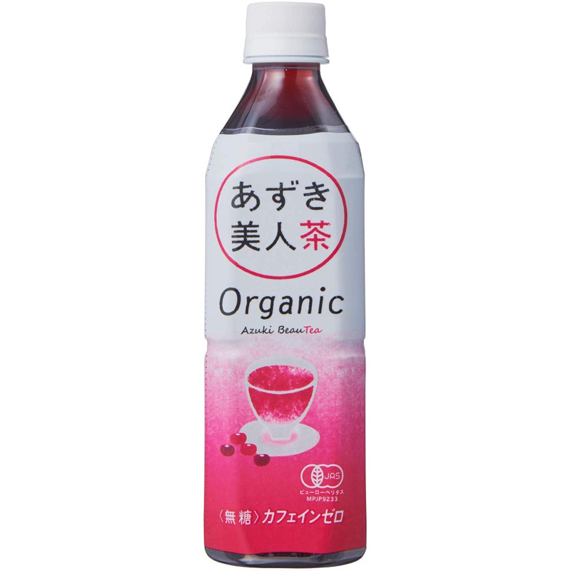 オーガニックあずき美人茶 500ml