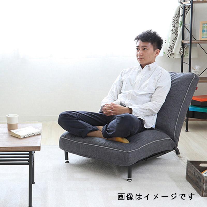Harmonia スチールレッグソファ GY 【同梱・代引不可】