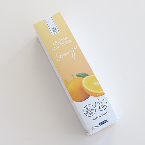 アロマアルコール65 オレンジの香り 100ml