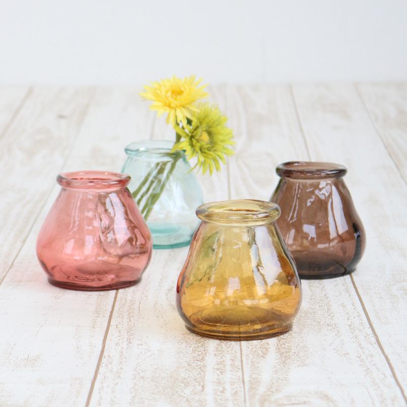 VALENCIA リサイクルガラス ミニフラワーベース CERO CL