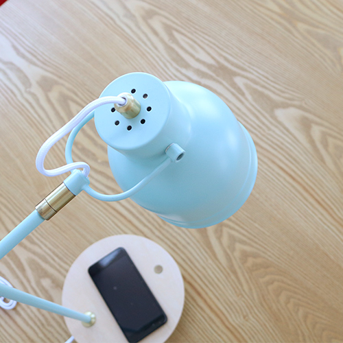 テーブルタッチセンサーランプ ワイヤレス充電機能付き BL 20933