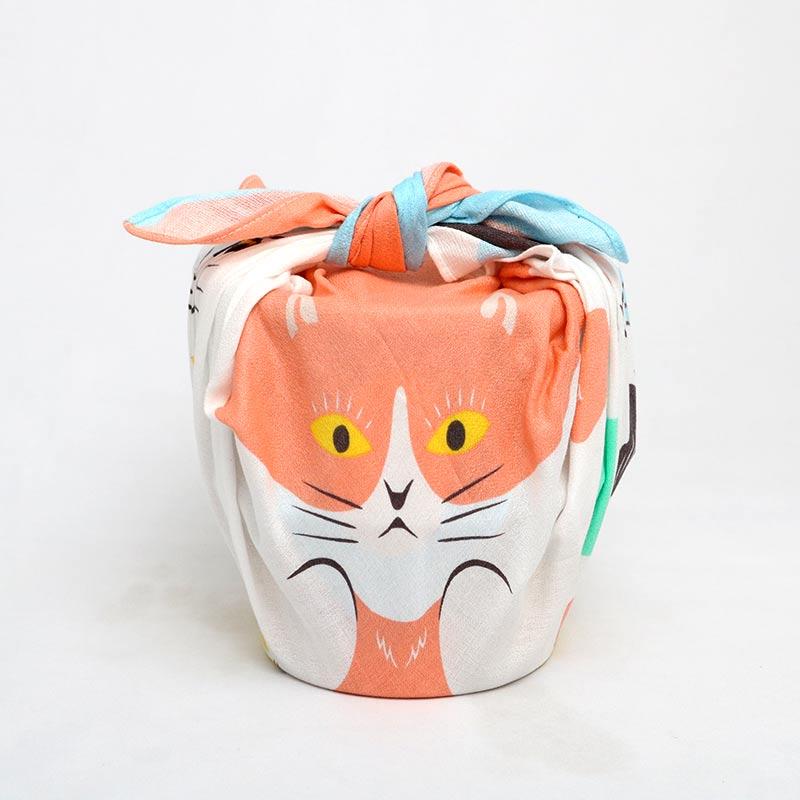 ◆風呂敷ギフト ネコ