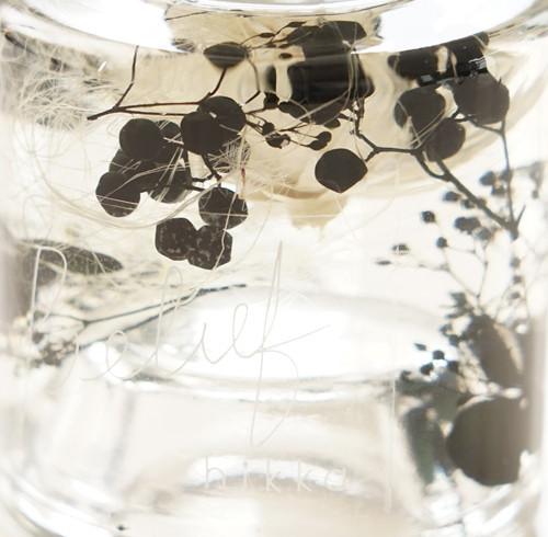 hikkaハーバリウム 10feelings ブラック ビリーフ