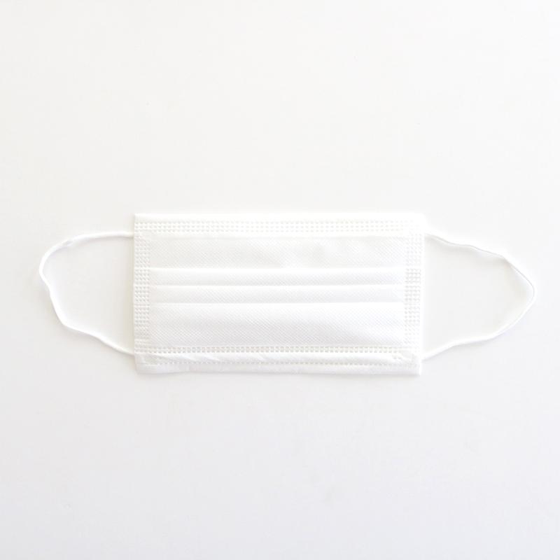3重構造 不織布マスク 30枚入〈白色〉